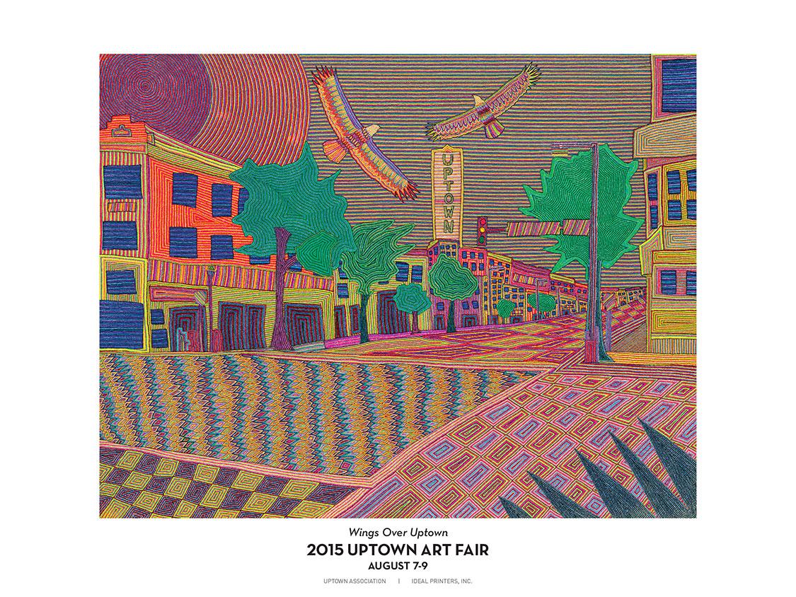 2015 Uptown Art Fair