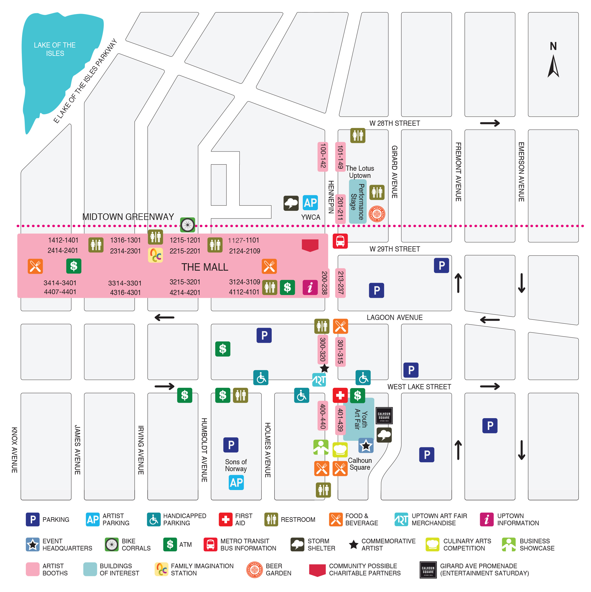 UAF Map