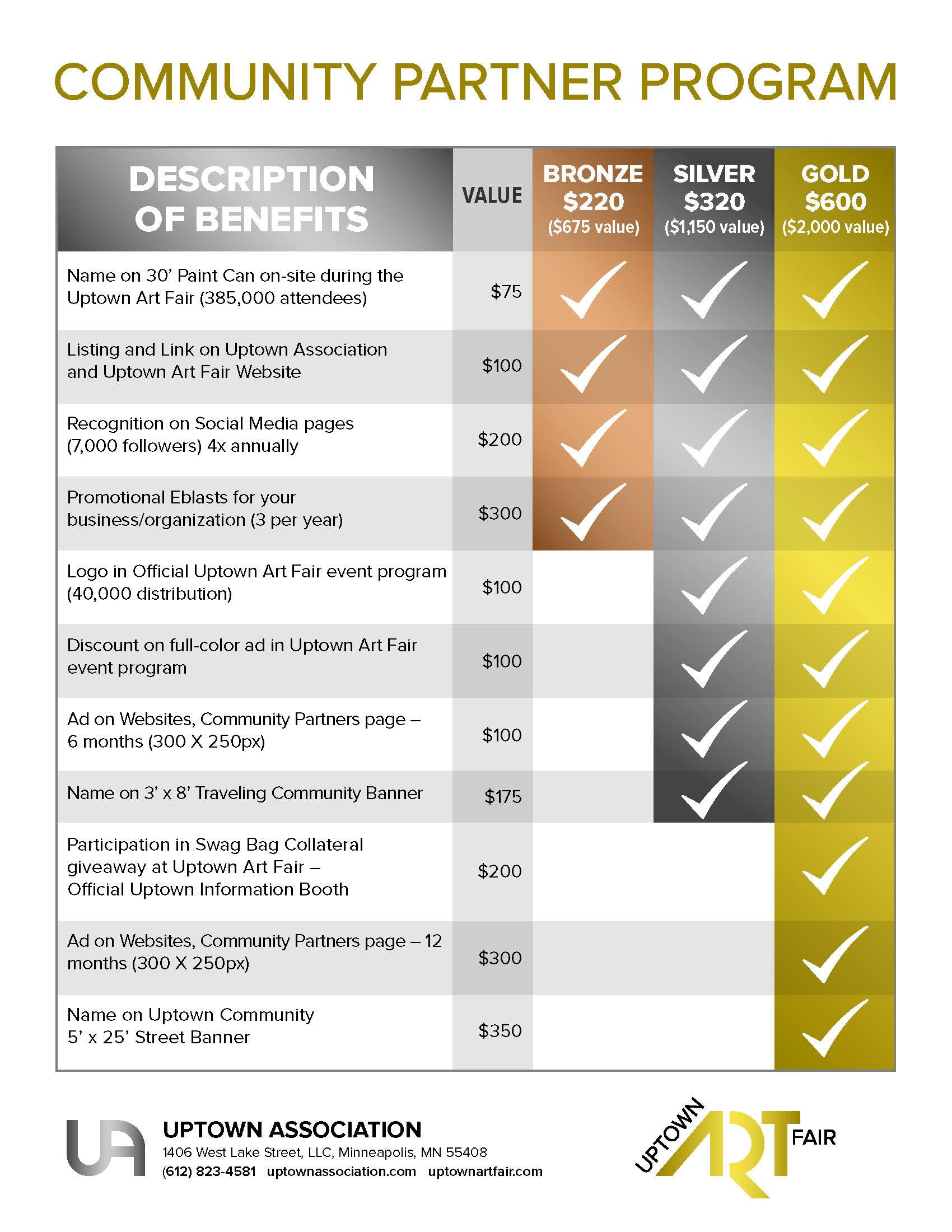 UA Member Benefits