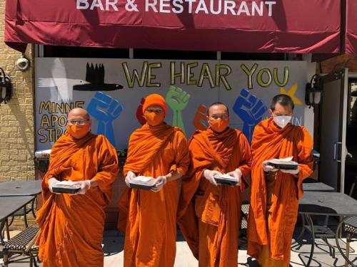 Monks at Amazing Thailand